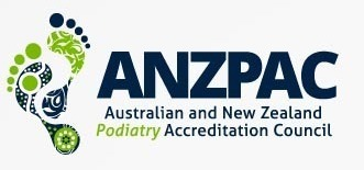 Australian andd New Zealande Podiatry Accreditation